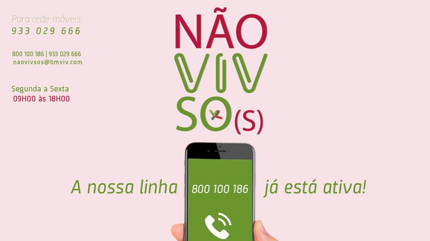 Se está sozinho e vive em Viana do Castelo ligue 800 100 186