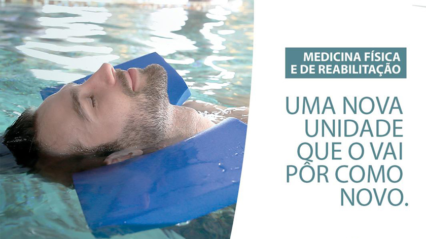 Nova Unidade de Medicina Física e de Reabilitação da Clínica Lusíadas Sacavém