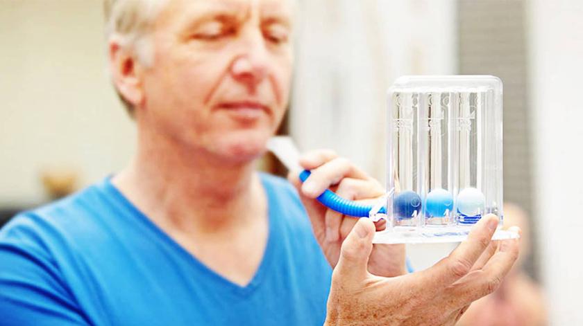 Todos os doentes respiratórios crónicos têm de ter uma reabilitação respiratória