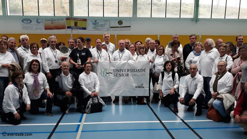 Universidade Sénior de Amarante na final do Campeonato Nacional de Boccia