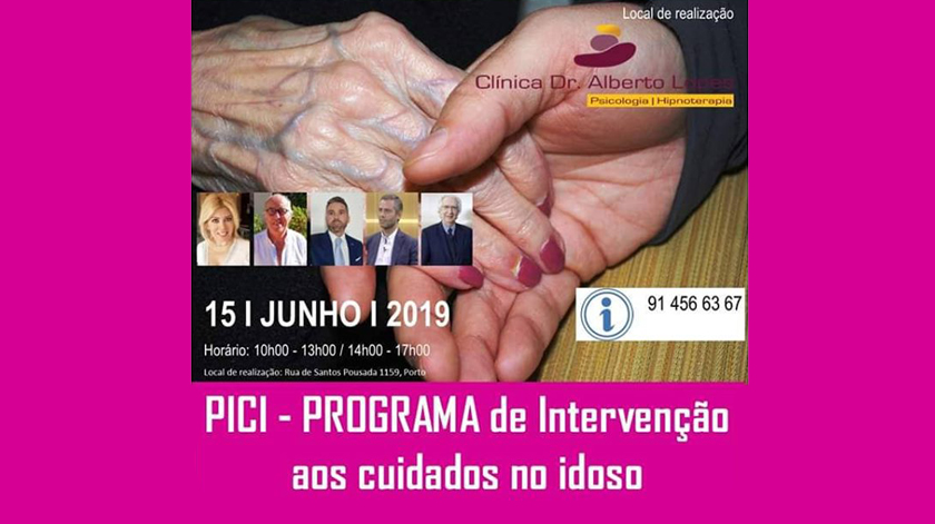"""Seminário """"PICI – Programa de intervenção aos cuidados no idoso"""""""