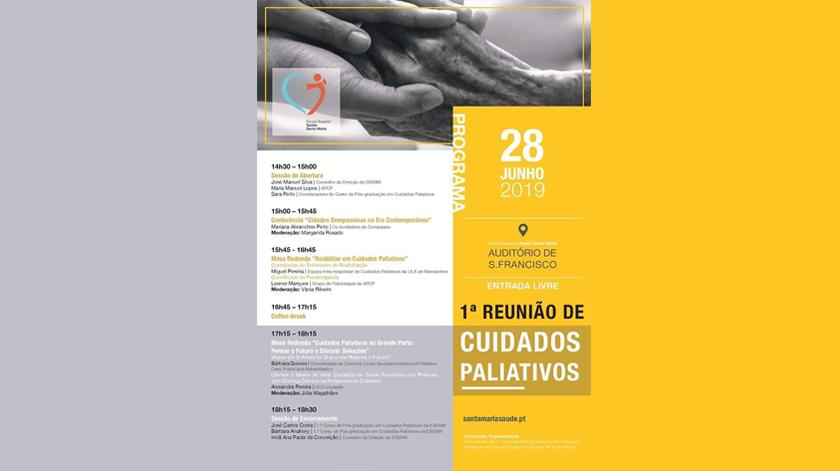 1ª Reunião de Cuidados Paliativos na ESS Santa Maria