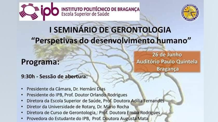 I Seminário de Gerontologia em Bragança
