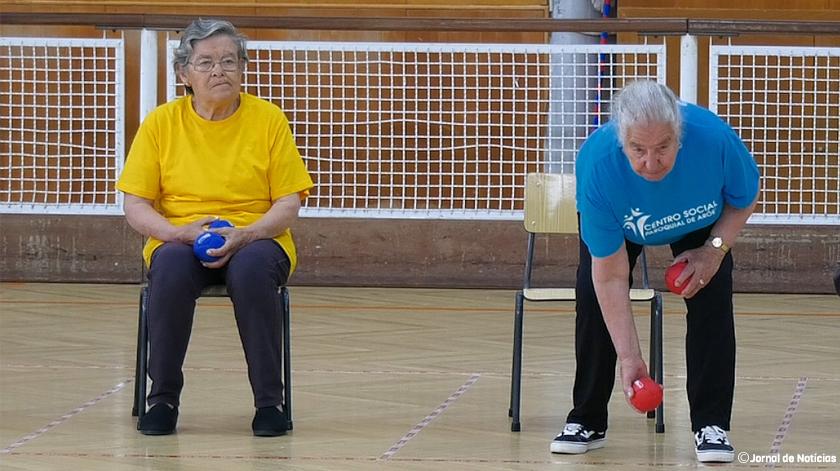 Seniores de Vale de Cambra participam em torneio de Boccia