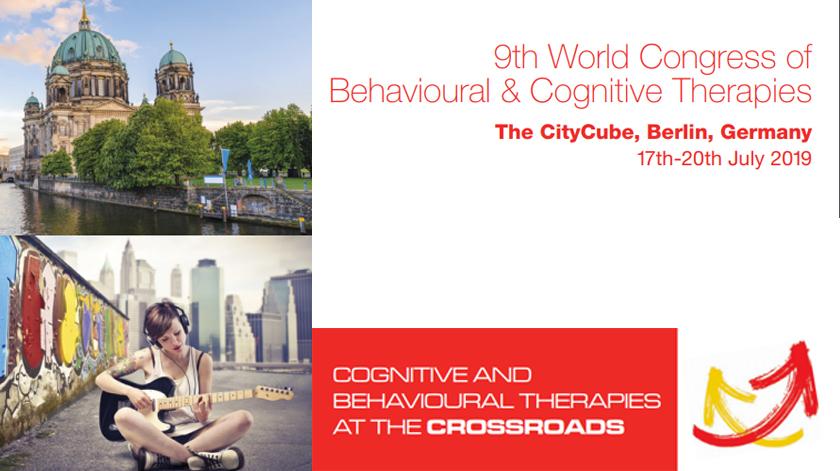 9.º Congresso Mundial de Terapias Comportamentais e Cognitivas