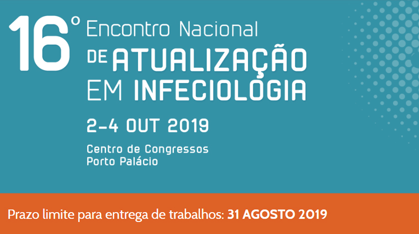 Inscrições para o 16.º Encontro Nacional de Atualização em Infeciologia estão abertas
