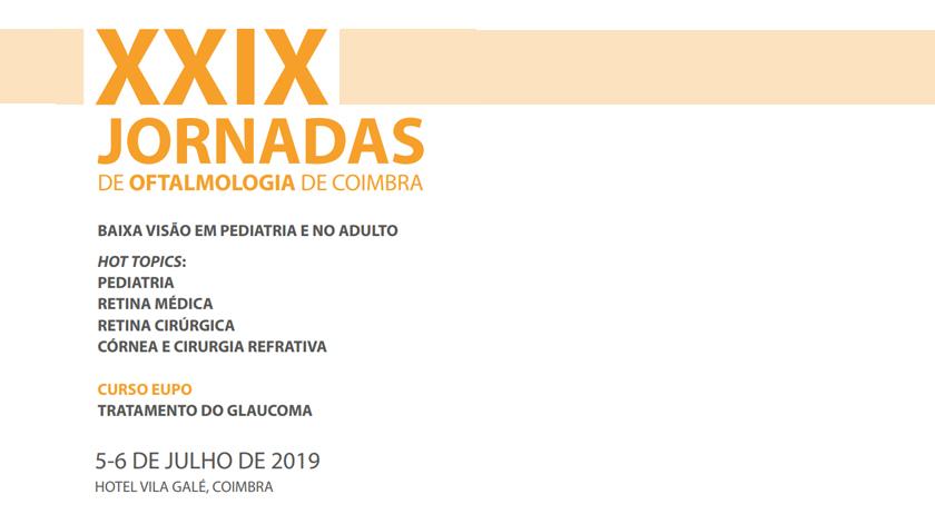 XXIX Jornadas de Oftalmologia de Coimbra