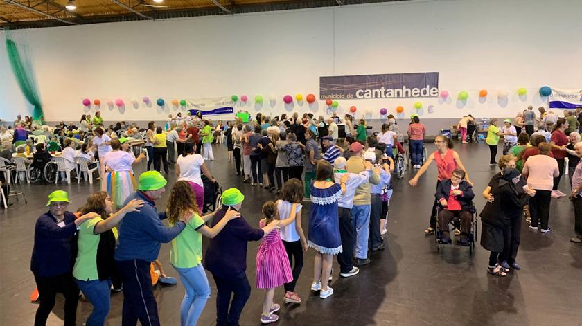 Município de Cantanhede promove arraial popular com 500 idosos