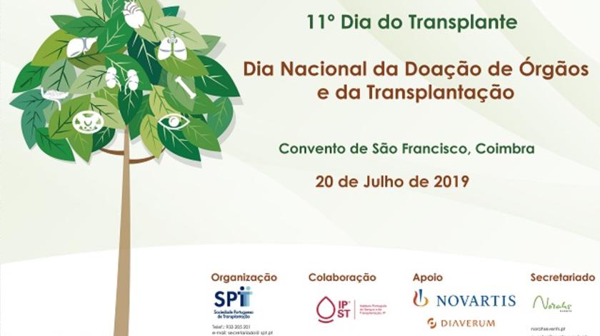 Dia Nacional da Doação de Órgãos e da Transplantação celebra-se a 20 de julho