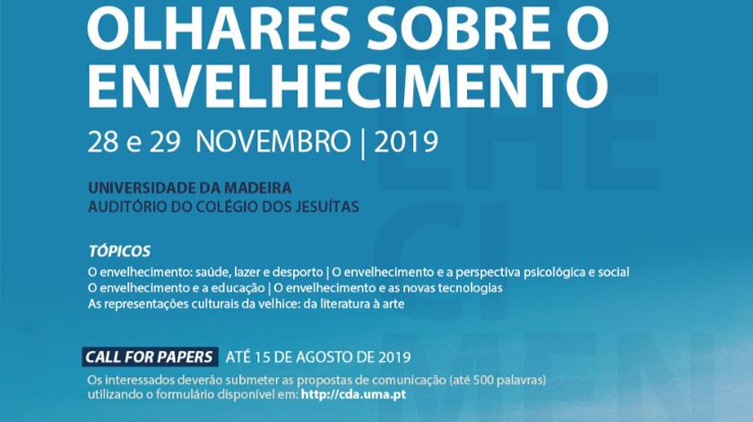 """Universidade da Madeira discute """"Olhares Sobre o Envelhecimento"""""""