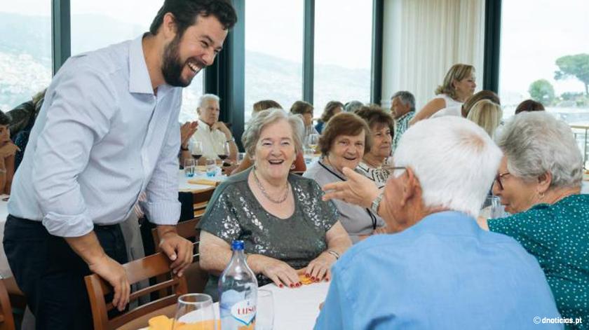 Presidente da CM Funchal sublinha importância dos ginásios municipais no envelhecimento ativo