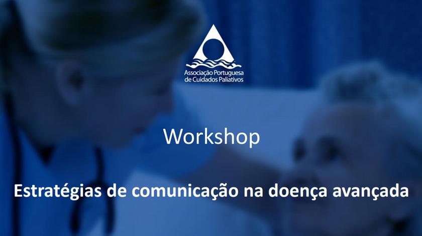Workshop em estratégias de comunicação na doença avançada