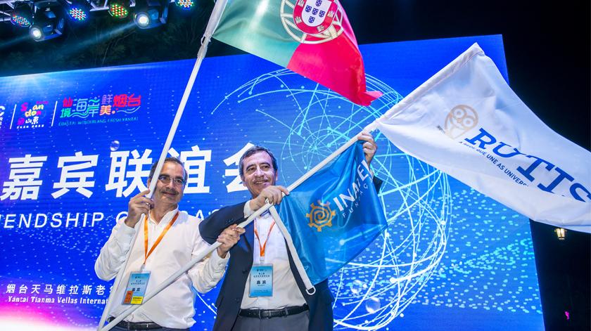 Presidente da RUTIS participou em 2 congressos internacionais na China