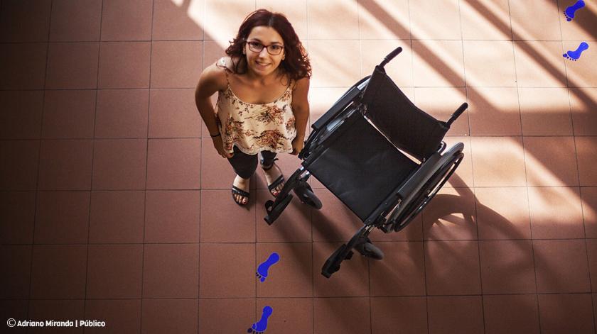 Estudante idealiza sistema de partilha de cadeiras de rodas para Aveiro