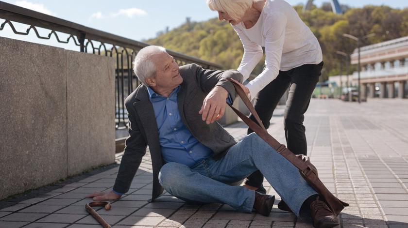 Condições que propiciam as quedas nos idosos
