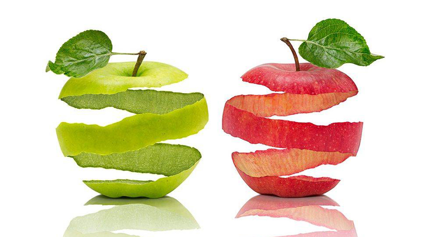 Come fruta com casca? Tenha atenção