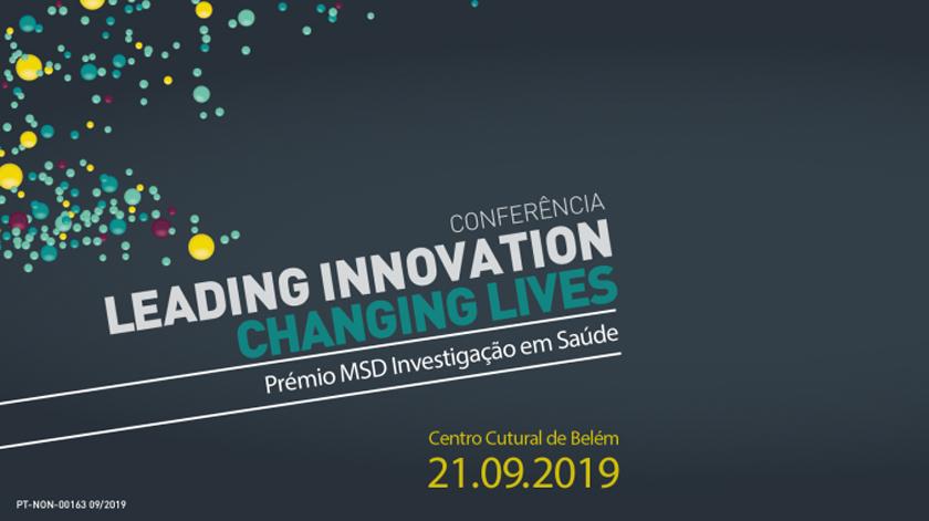 "Conferência ""Leading Innovation, Changing Lives"" no CCB"