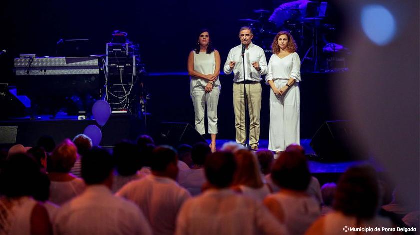 Ponta Delgada recebeu Festa Branca Sénior