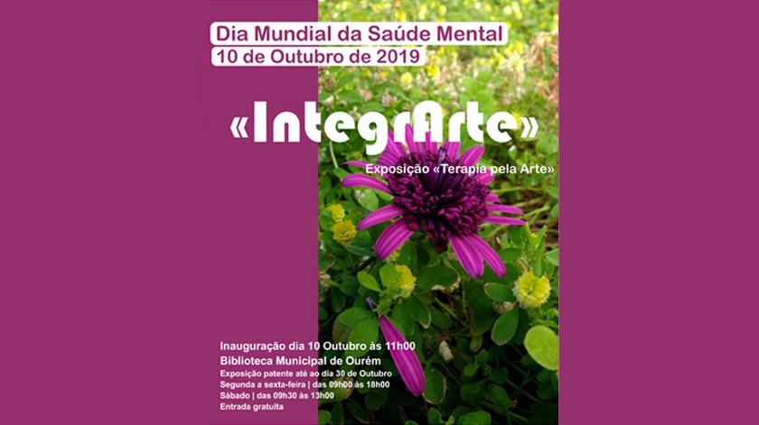 """Exposição """"IntegrArte"""" pretende reabilitação e integração do doente"""