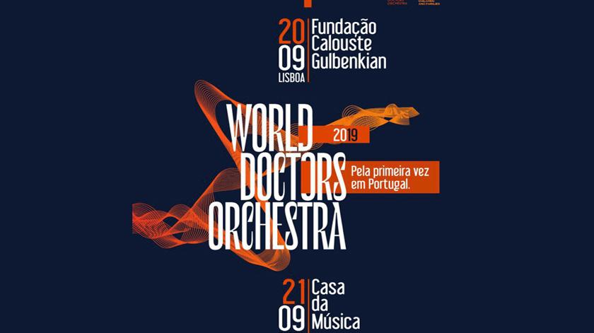 Orquestra de médicos atua pela primeira vez em Portugal