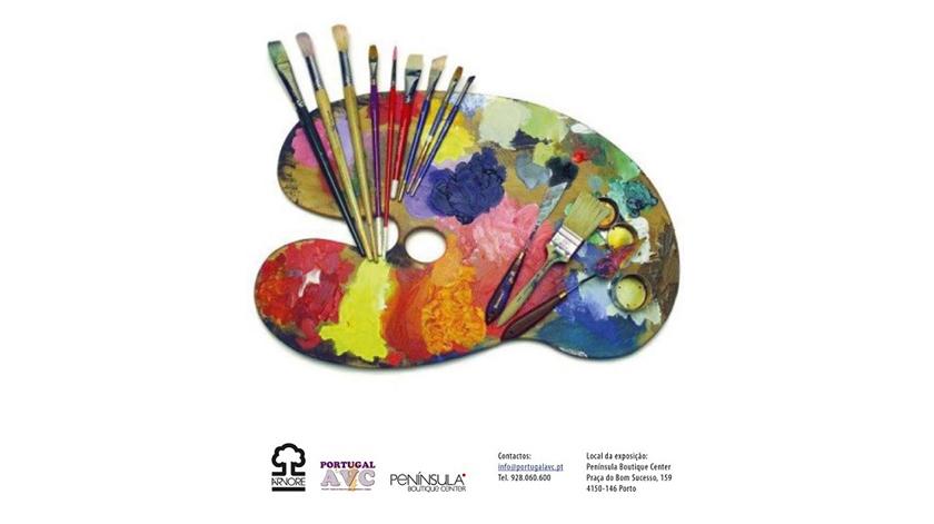 Exposição de pintura por sobreviventes de AVC no Porto