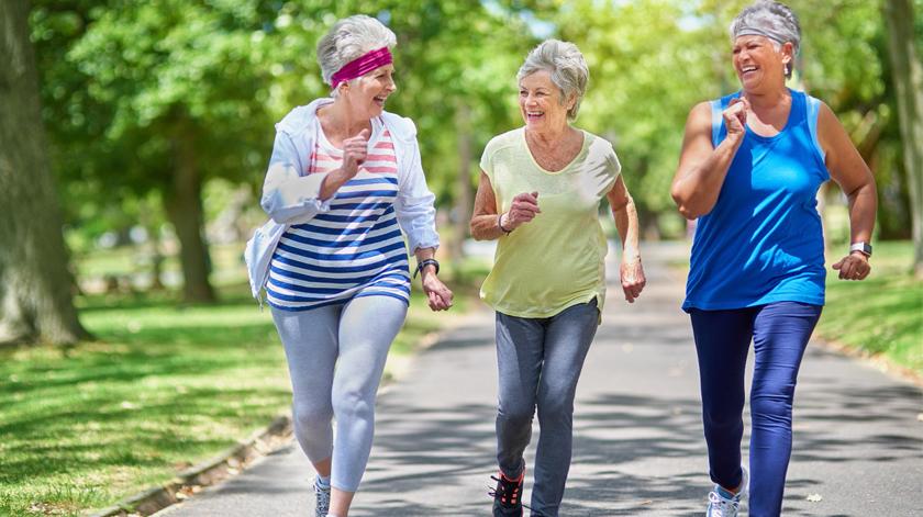 Importância da caminhada na vida dos idosos
