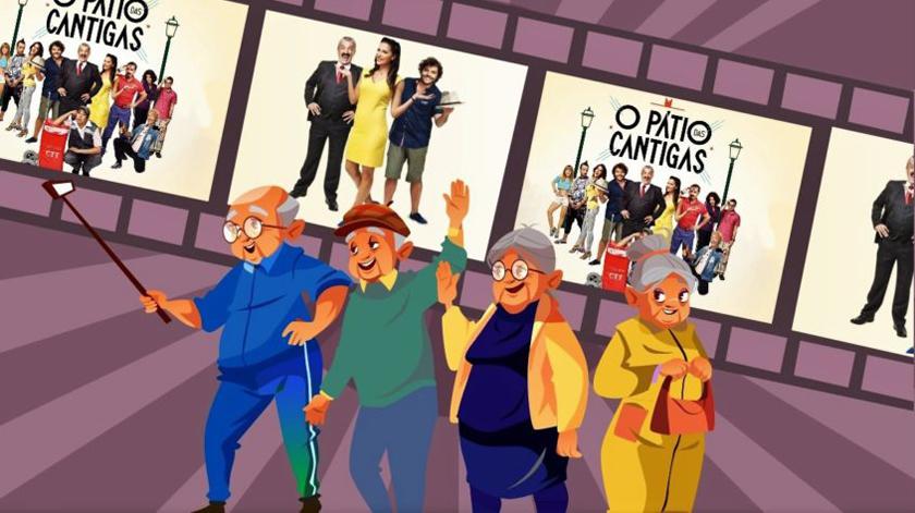 Câmara de Faro levou idosos ao cinema