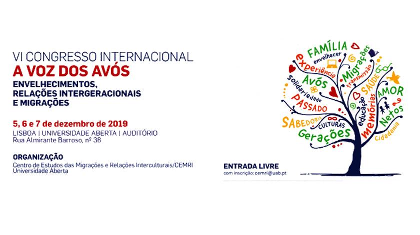 """Congresso Internacional """"A voz dos Avós"""" em Lisboa"""