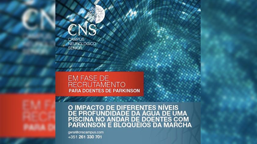 Estudo avalia impacto da água no andar dos doentes com Parkinson