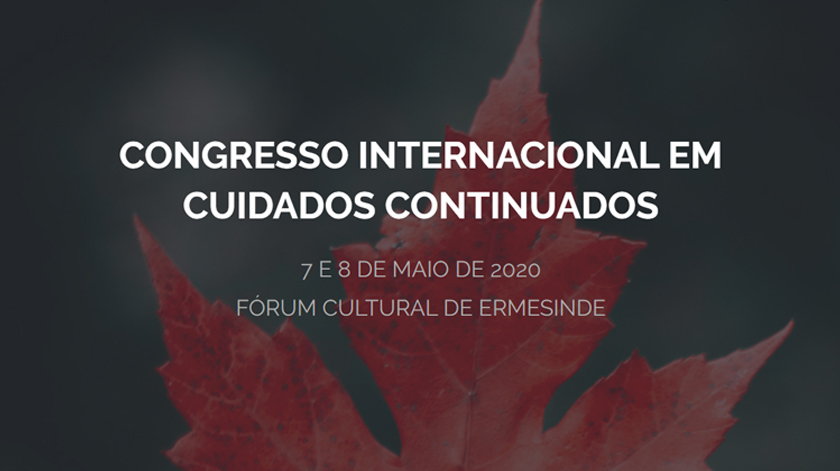 Ermesinde recebe Congresso Internacional em Cuidados Continuados em 2020