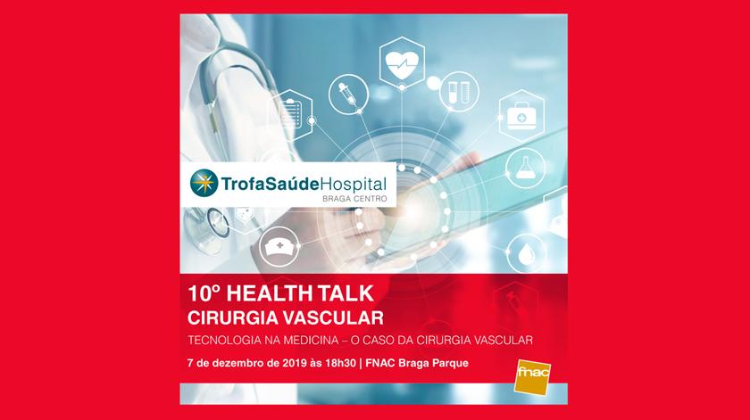 Cirurgia Vascular debatida na FNAC do Braga Parque