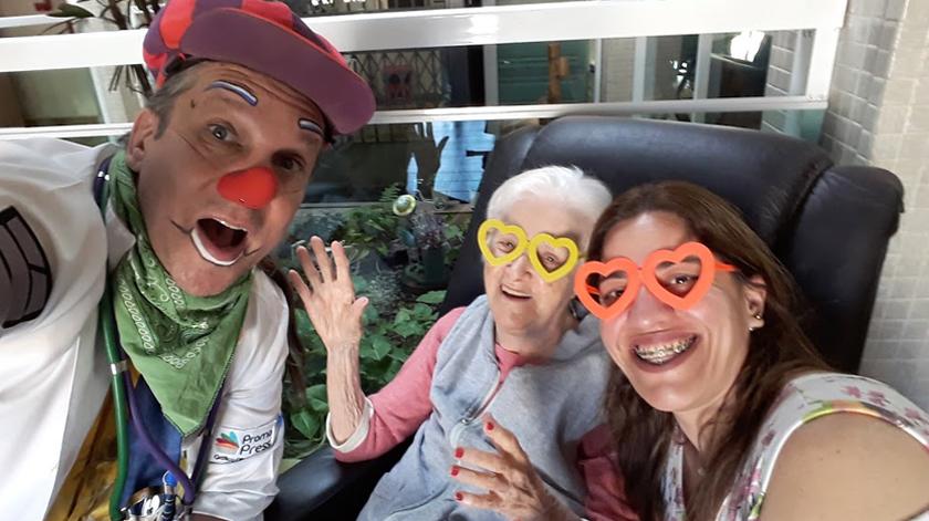 Soul Alegria leva um sorriso a idosos institucionalizados