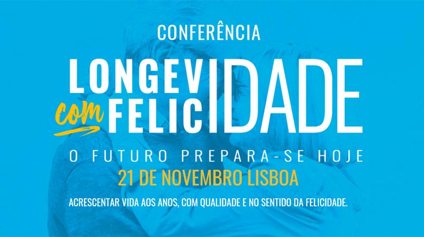 """Conferência """"Longevidade e Felicidade"""" em Lisboa"""