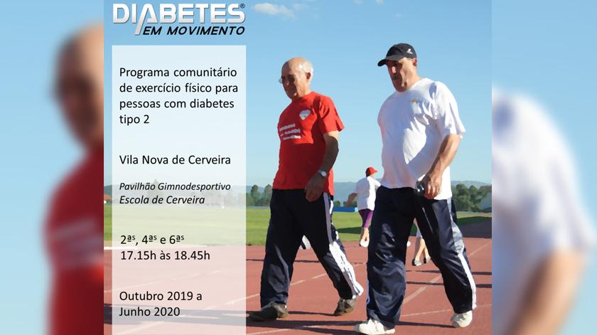 """""""Diabetes em Movimento"""" em Vila Nova de Cerveira"""