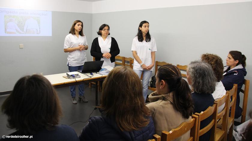 Enfermeiras do CHTS alertam para prevenção nas quedas em idosos