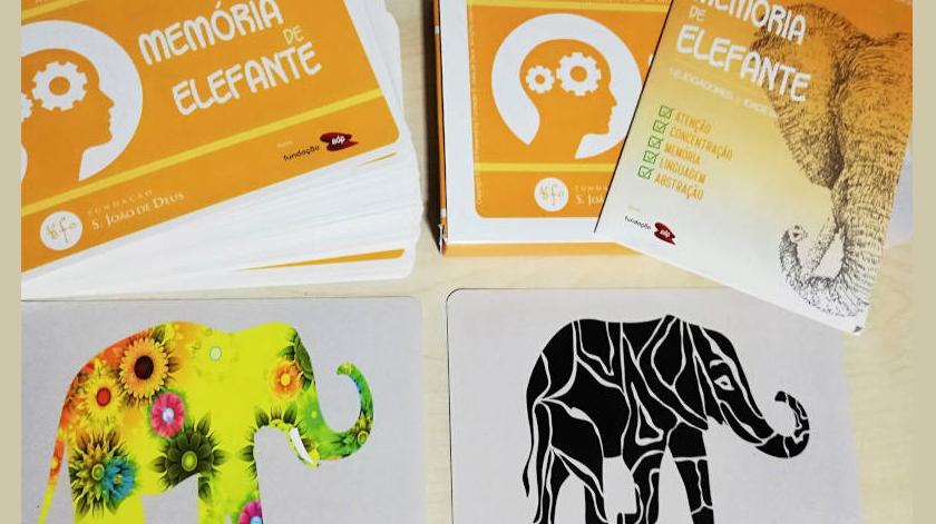 """Jogo """"Memória de Elefante"""" da Fundação S. João de Deus"""