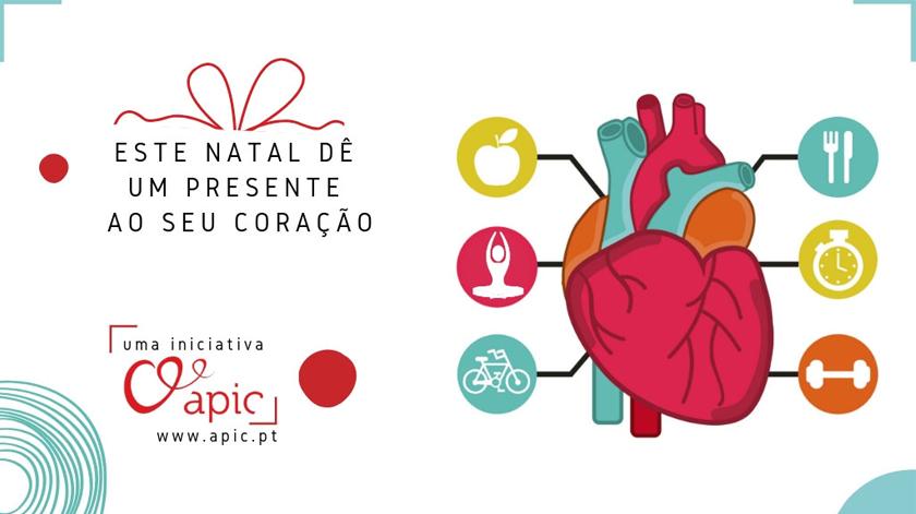 APIC lança campanha de sensibilização para a prevenção da doença coronária neste Natal