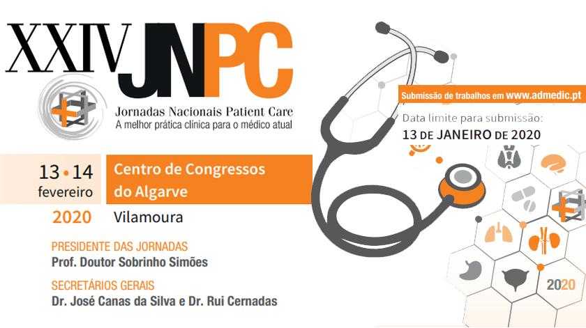Jornadas Nacionais Patient Care 2020 em Vilamoura