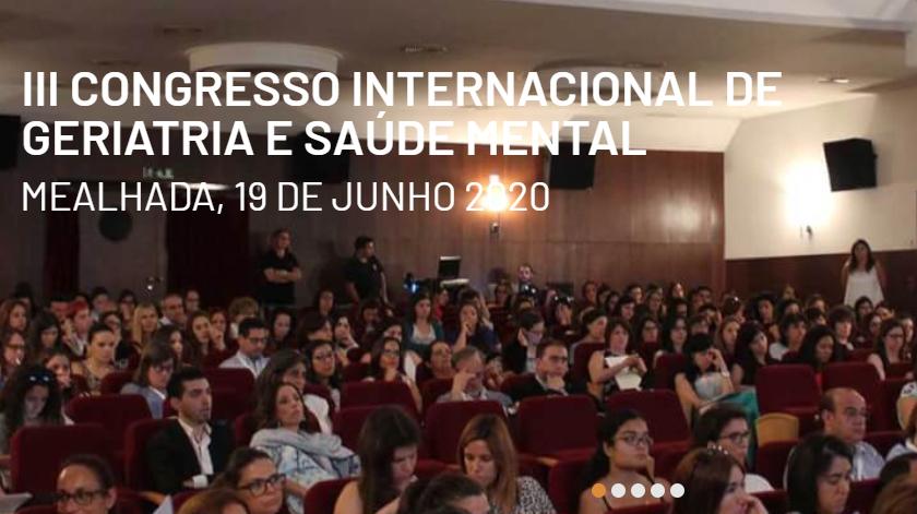 Congresso Internacional de Geriatria e Saúde Mental realiza-se na Mealhada