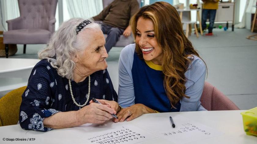 RTP estreia experiência social com crianças e idosos