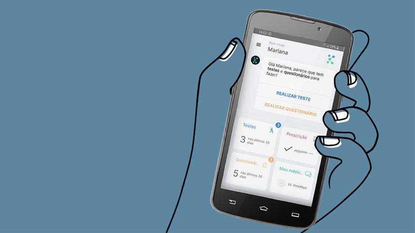 App para monitorizar Doença de Parkinson