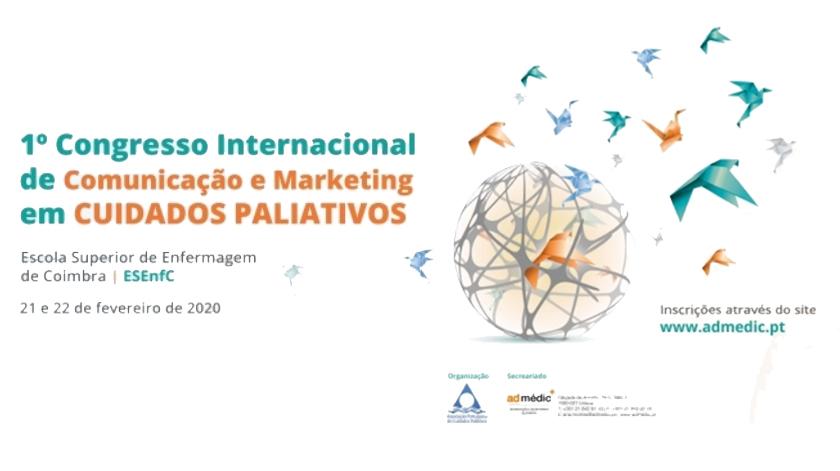 Coimbra acolhe congresso de Comunicação e Marketing em Cuidados Paliativos