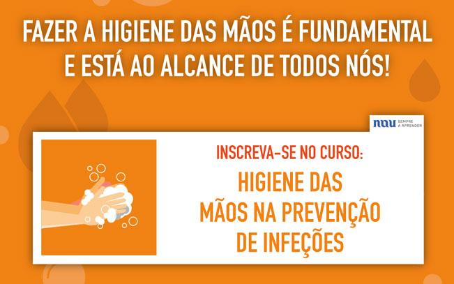 Formação online dedicada à higiene das mãos já disponível