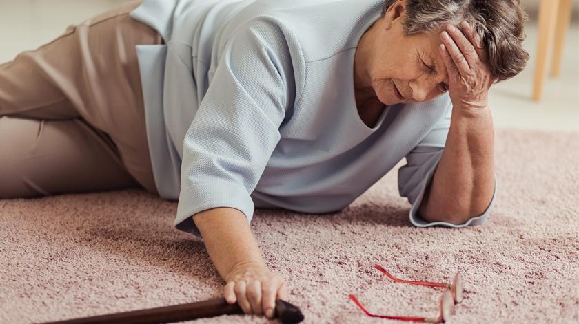 Quase 20% dos acidentes domésticos aconteceram com idosos