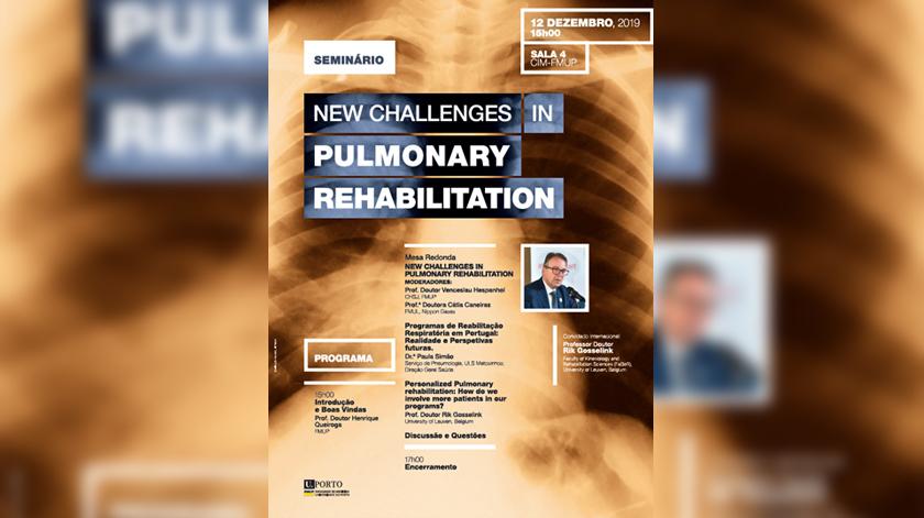 Seminário analisa realidade da Reabilitação Pulmonar