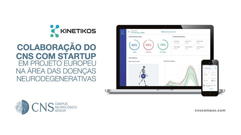 CNS e startup portuguesa em projeto europeu na área das doenças neurodegenerativas