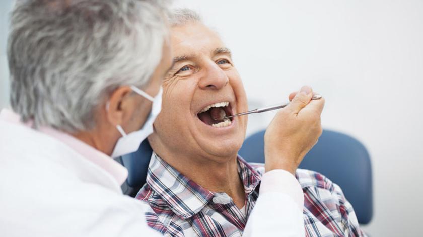 Cheque dentista abrange população idosa