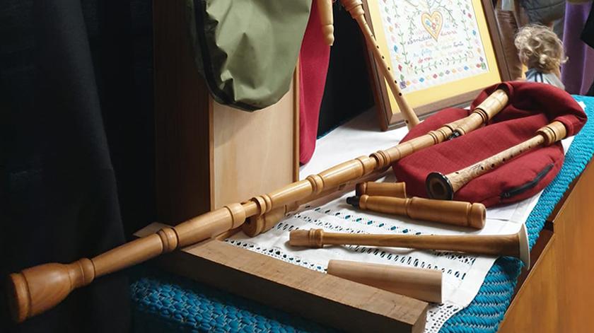 Fabrico artesanal de gaitas retomado meio século depois em Ponte da Barca