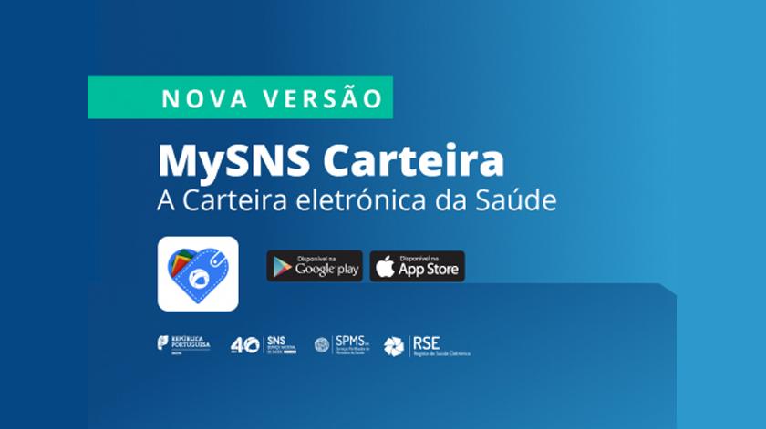 App MySNS Carteira ganha nova versão