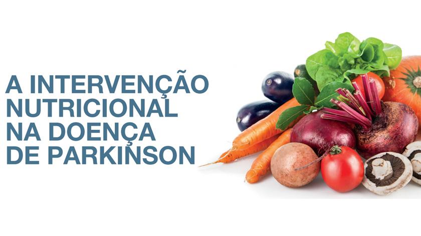 Formação de nutrição em doentes de Parkinson
